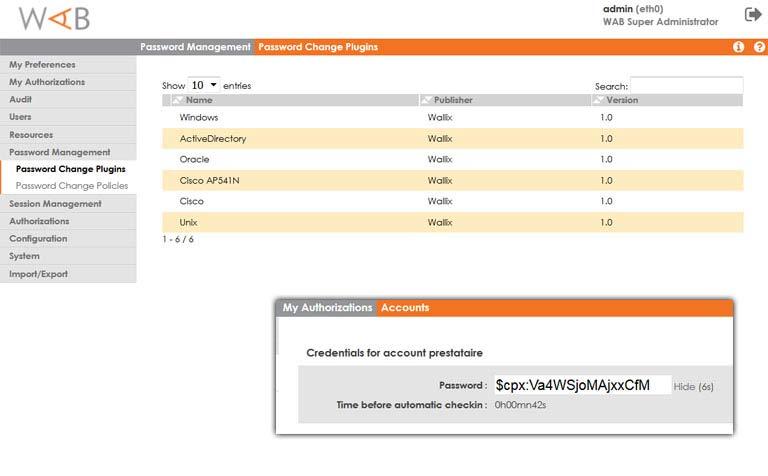 Wallix - zarządzanie użytkownikiem uprzywilejowanym