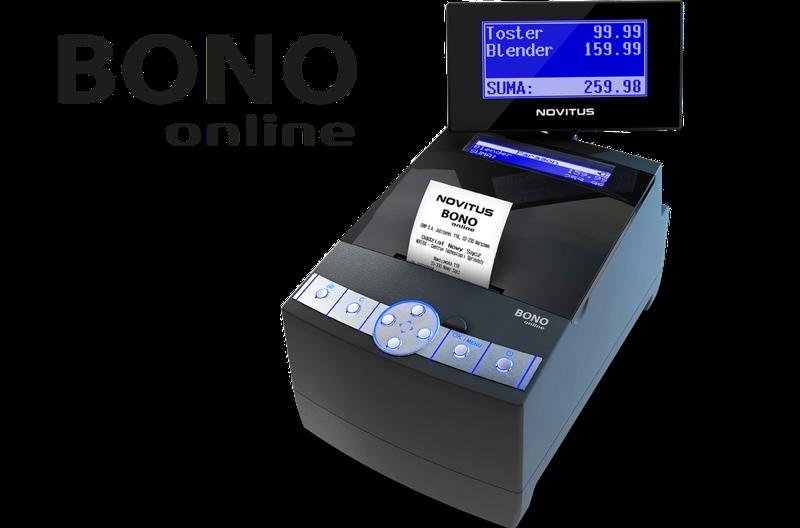 Drukarka fiskalna Bono online